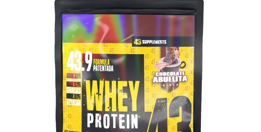 43 Whey Protein 6.6 Lbs
