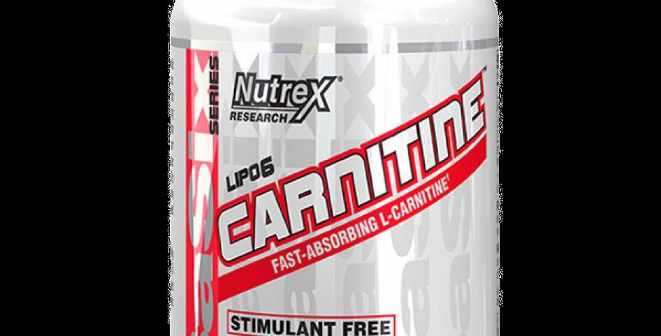 Nt Lipo 6 Carnitine 120 Caps