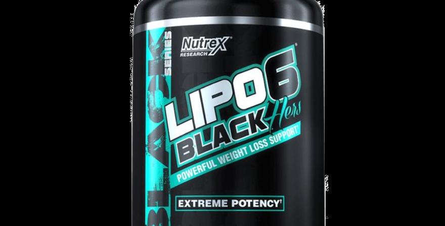 Nt Lipo 6 Black Hers 120 Caps