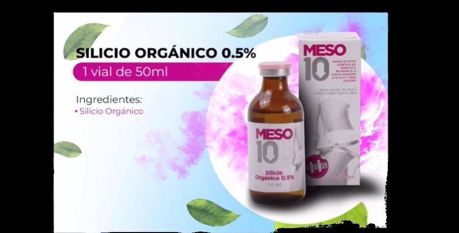 Meso10 Silicio Organico 0.5% 50ml