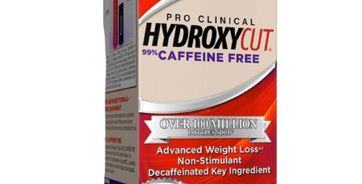 Mt Hydroxycut Pro Clinical 99% Caffeine Free 80 Ct