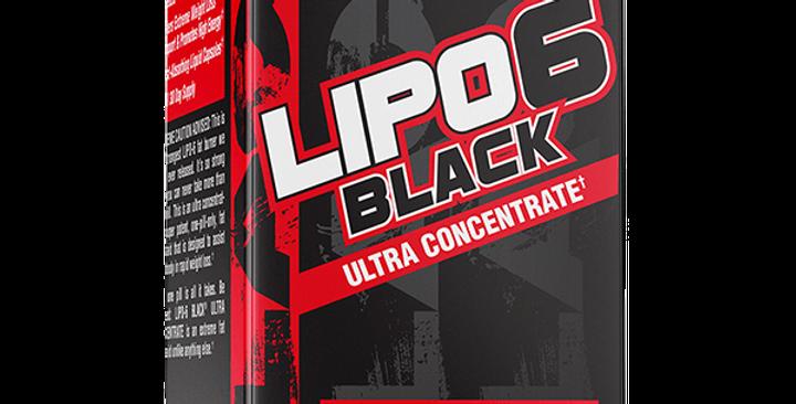 Mayoreo Nt Lipo 6 Black Ultra Concentrate 60 Caps Rojo