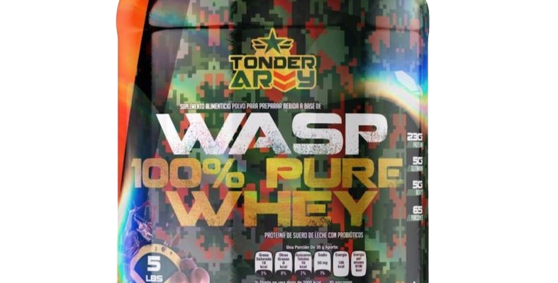 Tonder Army 100% Pure Whey 5 Lbs