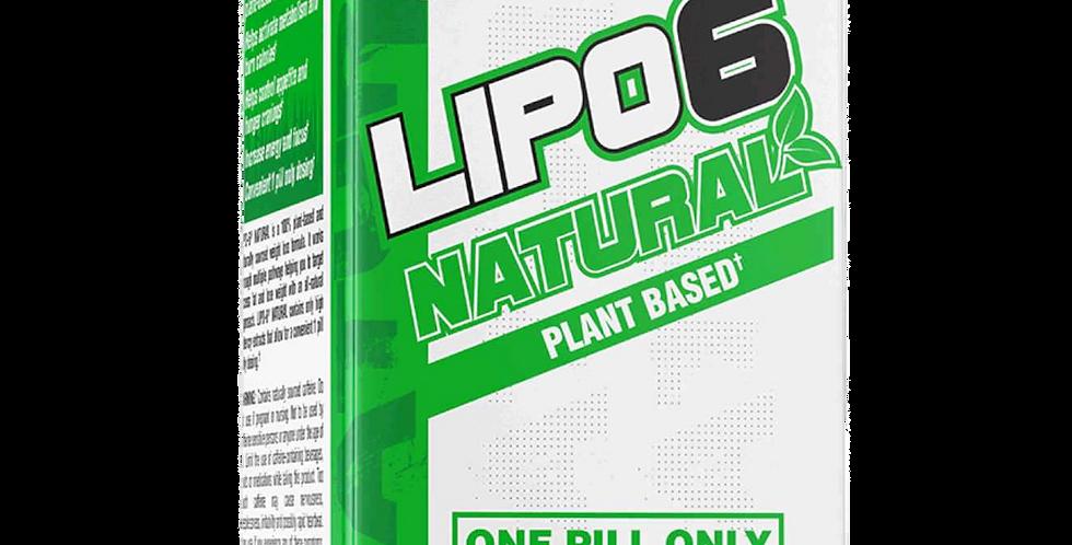 Nt Lipo-6 Natural Plant Based 60 Veggie Caps