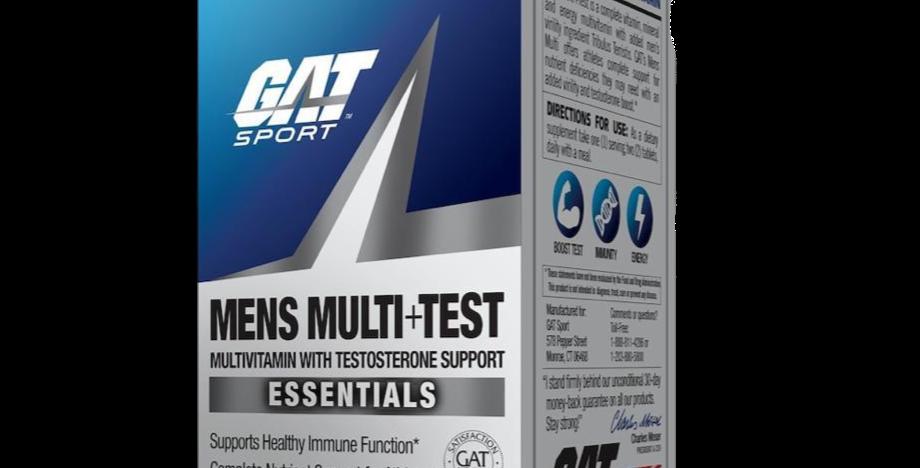 Gat Multi Vitamin + Test 60 Ct