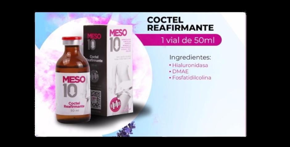 MESO10 COCTEL REAFIRMANTE 50ML