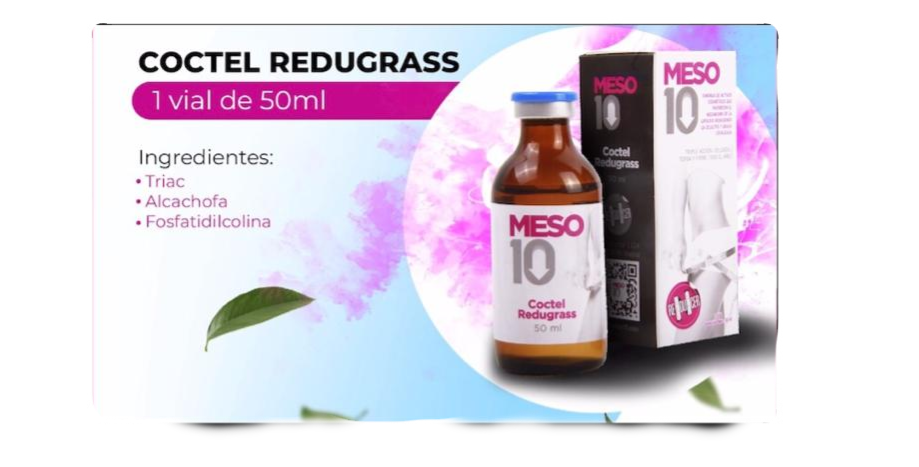 Meso10 Coctel Redugrass 50ml