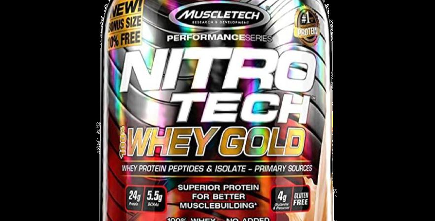 Mt Nitro-Tech Whey Gold 5.53 Lbs