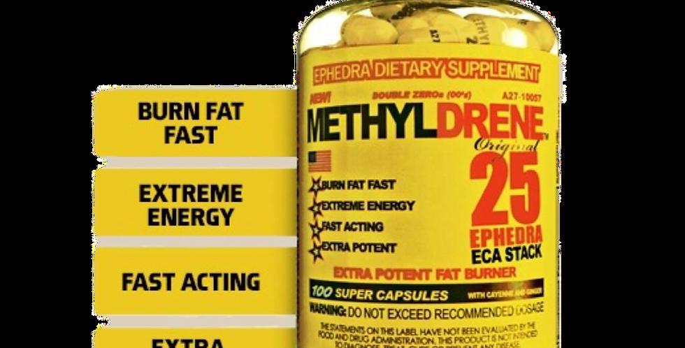 Methyldrene Amarillo 100 Caps