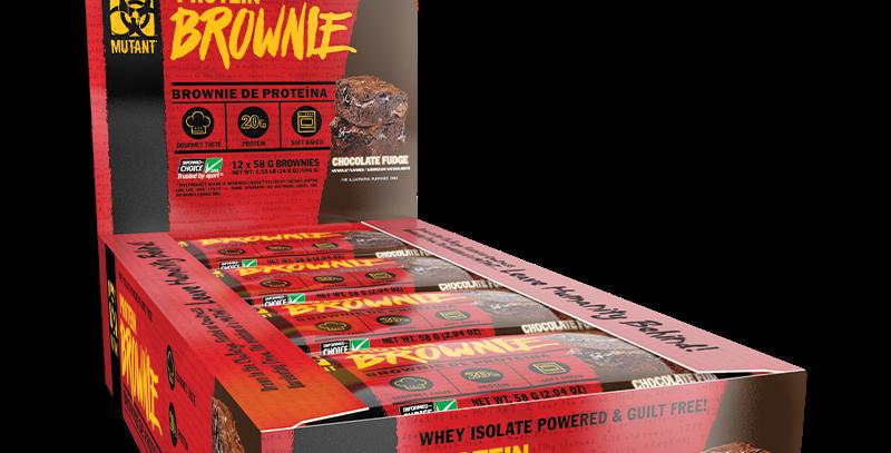 Mut Mutant Protein Brownie 12 Bar 58 Grs