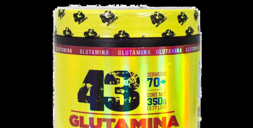 43 Glutamina 500 Gr