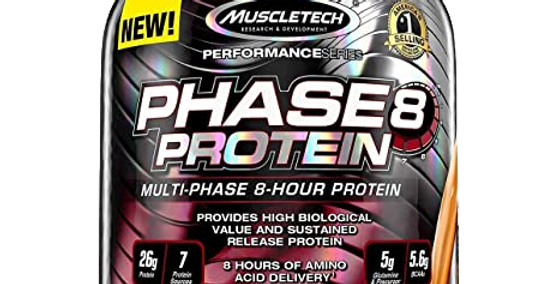 Mt Phase 8 Protein 4.5 Lbs