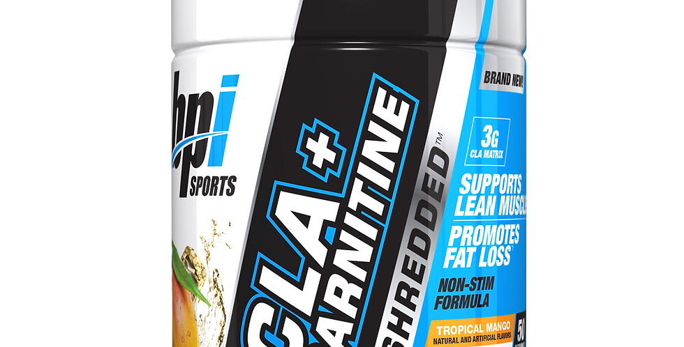 Bpi Cla+Carnitine Shredded 50 Serv