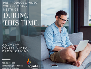 Ignite Video Productions can help your productivity stay on track and support your cash flow