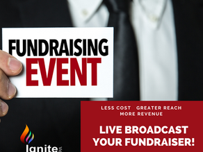 Live Broadcast Your Fundraiser