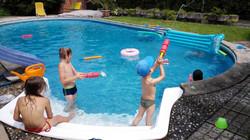 bazén a děti