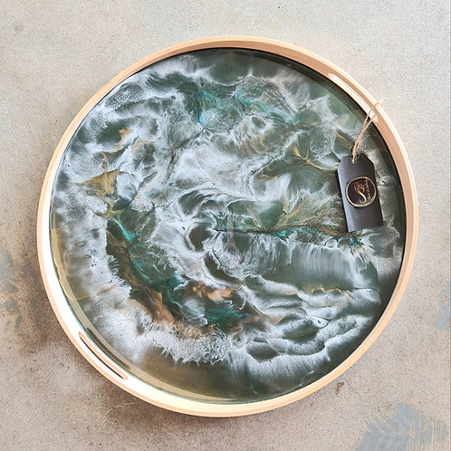 Resin Platter by Paint 2 Infinity