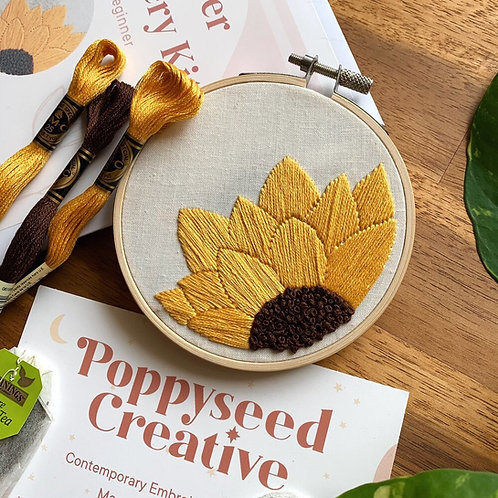 Embroidery Kits by Poppyseed Creative