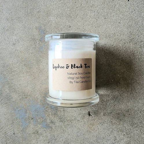 Scented Soy Candle (Medium) by Tila Candle Co