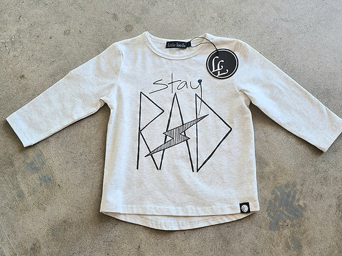 'Stay Rad' Tee by Little Lords