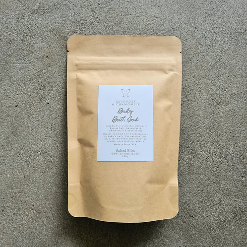 Lavender and Chamomile Baby Bath Soak by Salted Bliss