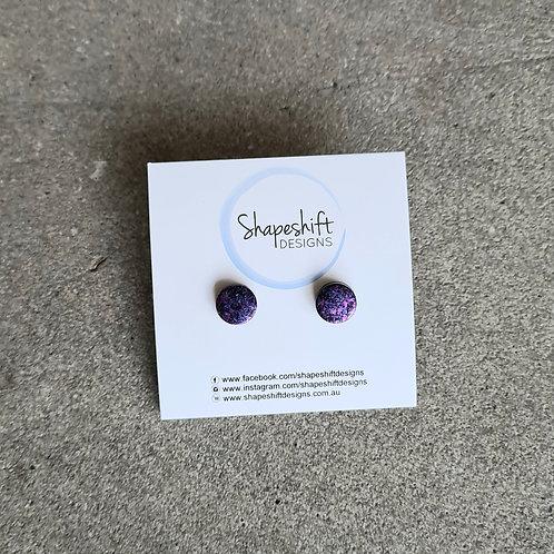 Neon Stud Earrings by Shapeshift Designs