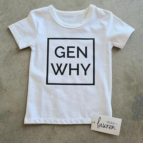 'GEN WHY' Tee by Max + Lauren