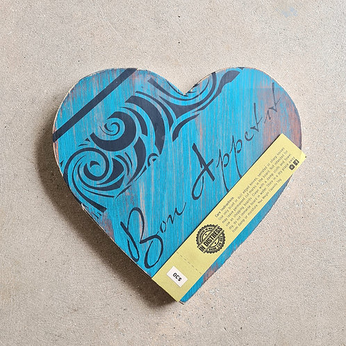 Hand Painted Serving Boards by In Distress