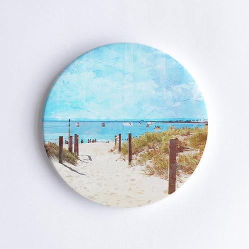 Ceramic Coaster by Braw Paper Co