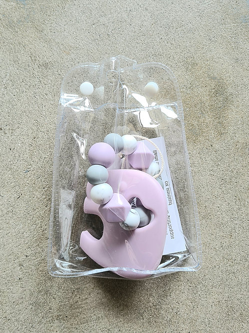 Elephant Teether by Love Charlie XO