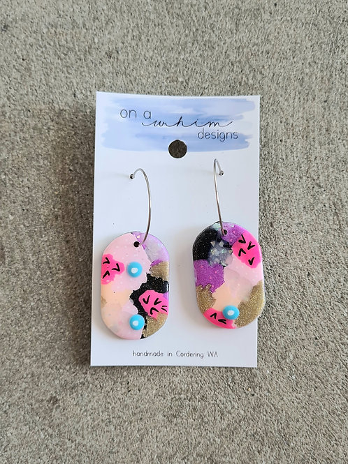 Dangle Earrings by On a Whim Designs