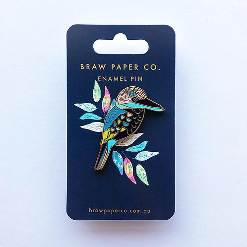 Enamel Pin by Braw Paper Co