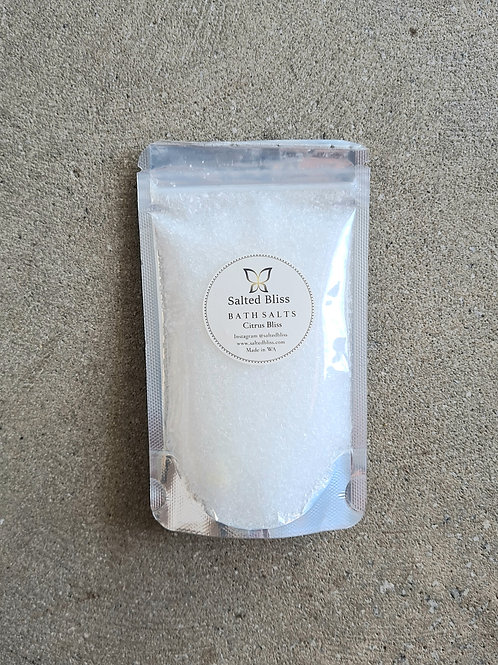 Small Bath Salts Pouch by Salted Bliss