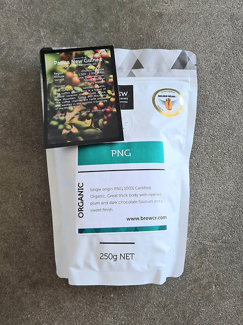 Coffee Beans | PNG Organic | 250g