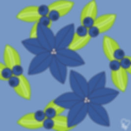 77. Blue Flowers & Blueberries.jpg