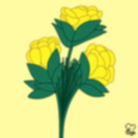 8. Golden Yellow Flowers.jpg