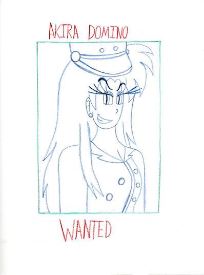 109. Akira Domino Wanted Poster Sketch.j