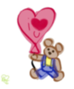 Teddy Love Balloon Memo.jpg