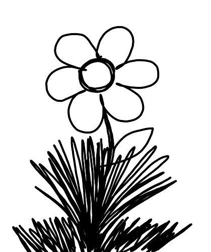 Flower B&W Memo.jpg
