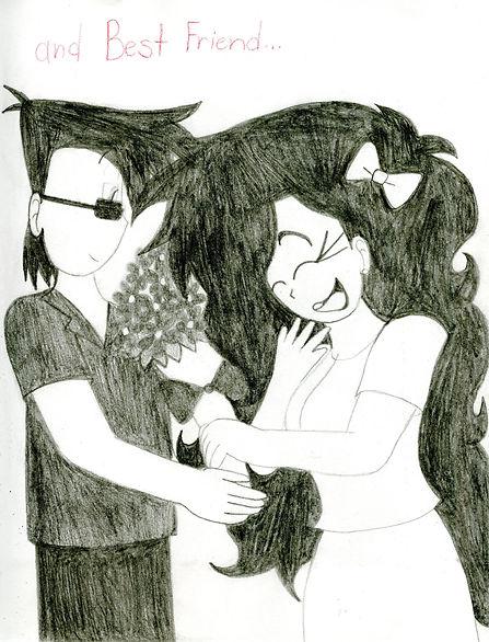 32. Dominick + Sabrina Best Friend Sketc