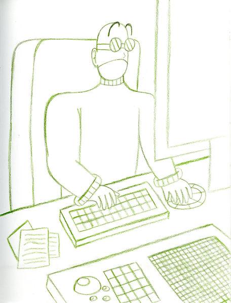 91. X on his Computer Sketch.jpg