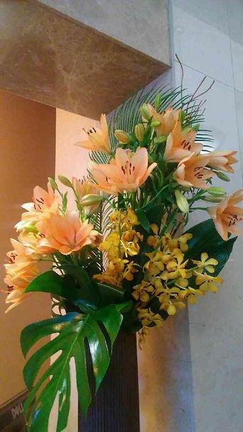 Artificial Orange Flowers.jpg