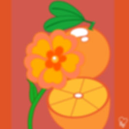 76. Orange Flowers & Oranges.jpg