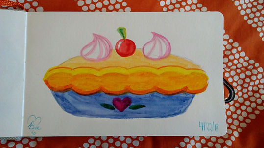 Cherry Pie_5.25x8.25_watercolor paint_18