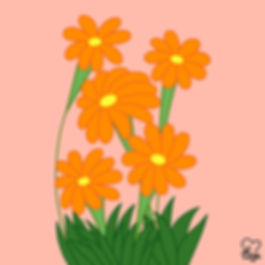 21. Yellow Orange Flowers.jpg