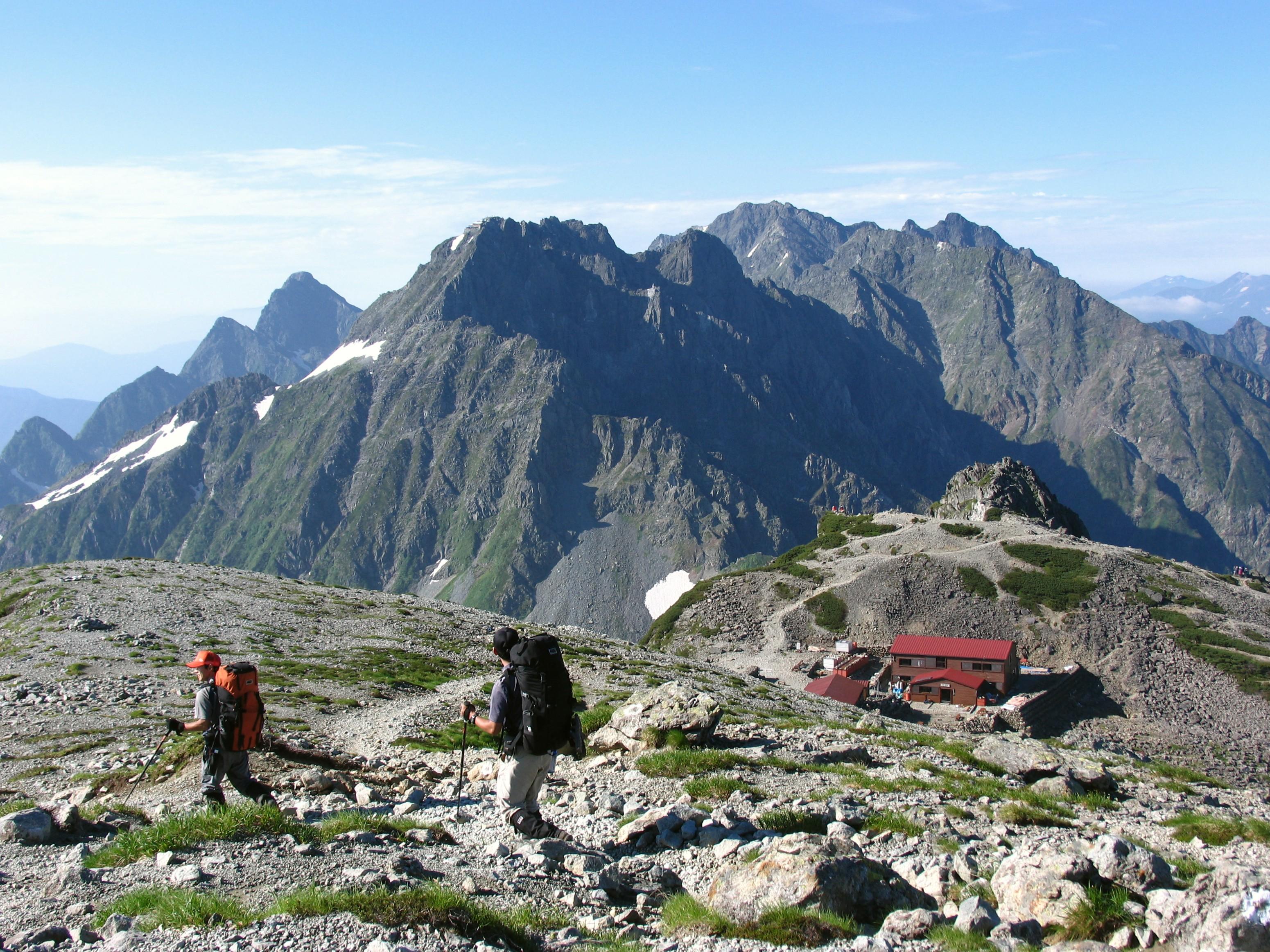 ak0502606031登山者・南岳D(北アルプス)