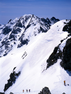 ak0500101001北穂高岳頂上より(北アルプス)
