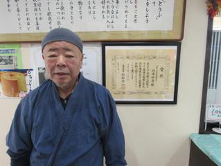 信州の名工「洞澤豆腐店 店主」