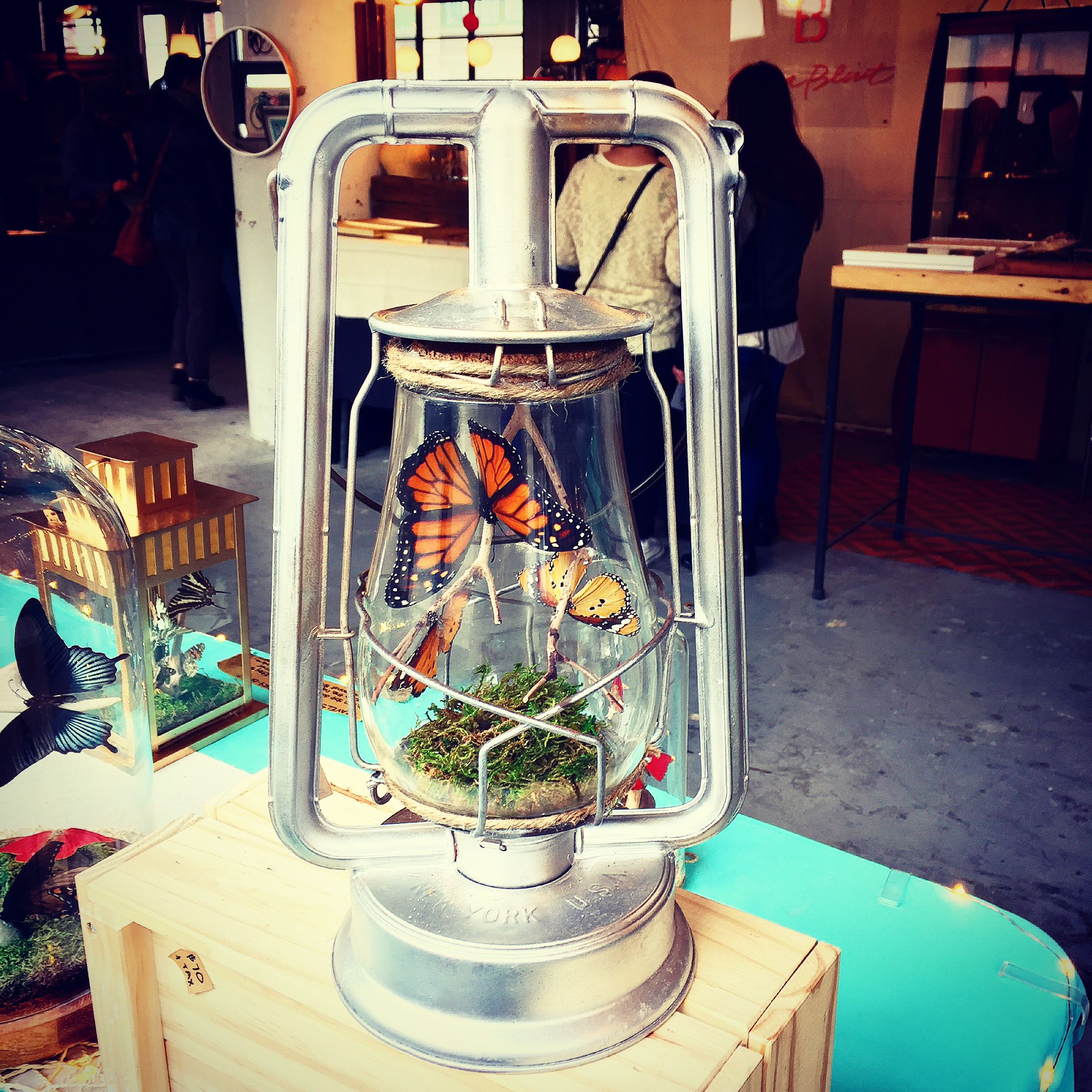 Lantern - silver at BK Flea