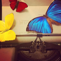 #ValentinesDay special!! This weekend only add a short poem to any #FlutterbyKatie piece